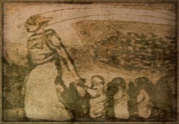 Фреска с пророком Велотом